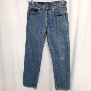 Levi's 501 Button Fly Jeans 33